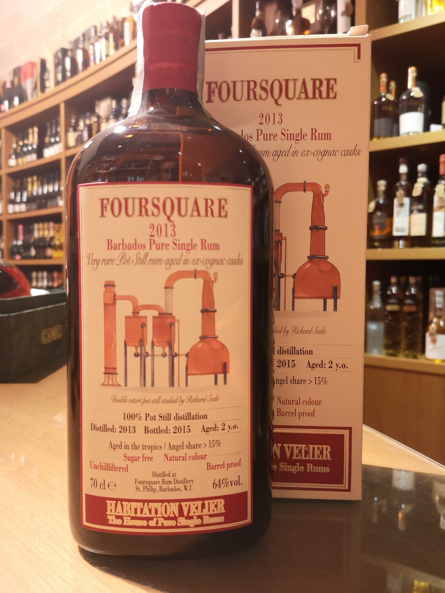 Barbados Pure Single Rum Foursquare 2013 – Habitation Velier