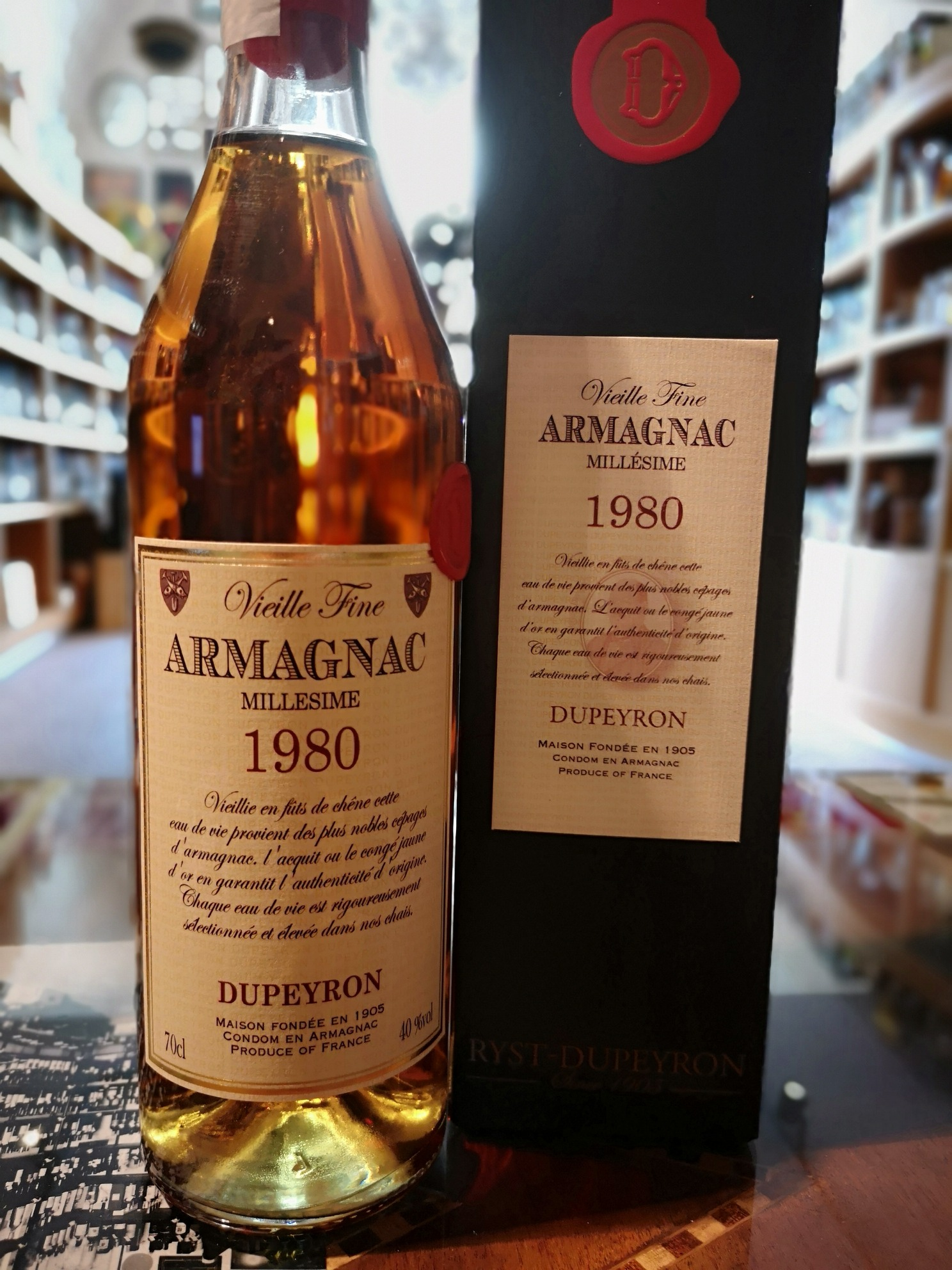 Armagnac Dupeyron 1980