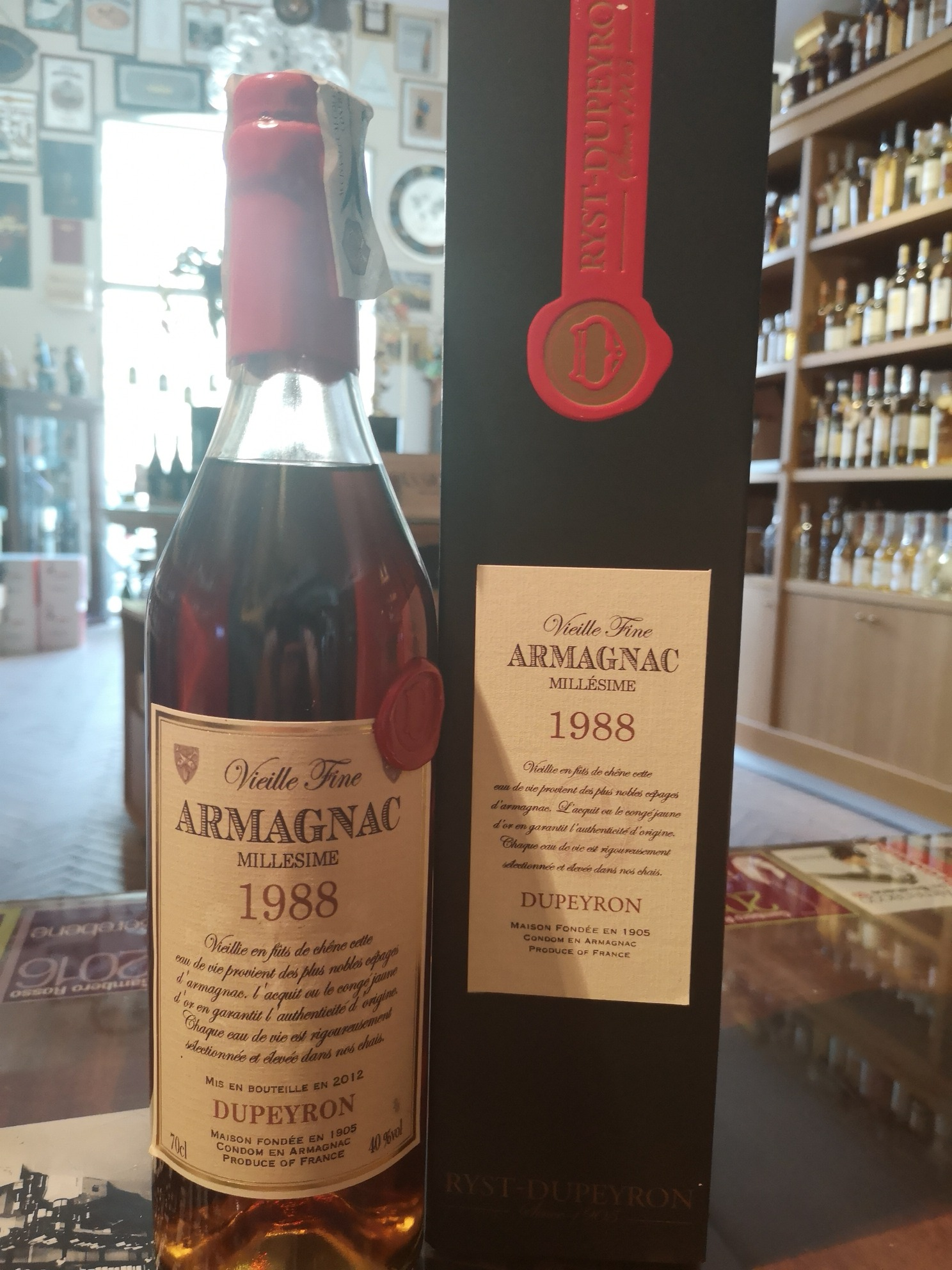 Armagnac Dupeyron 1988