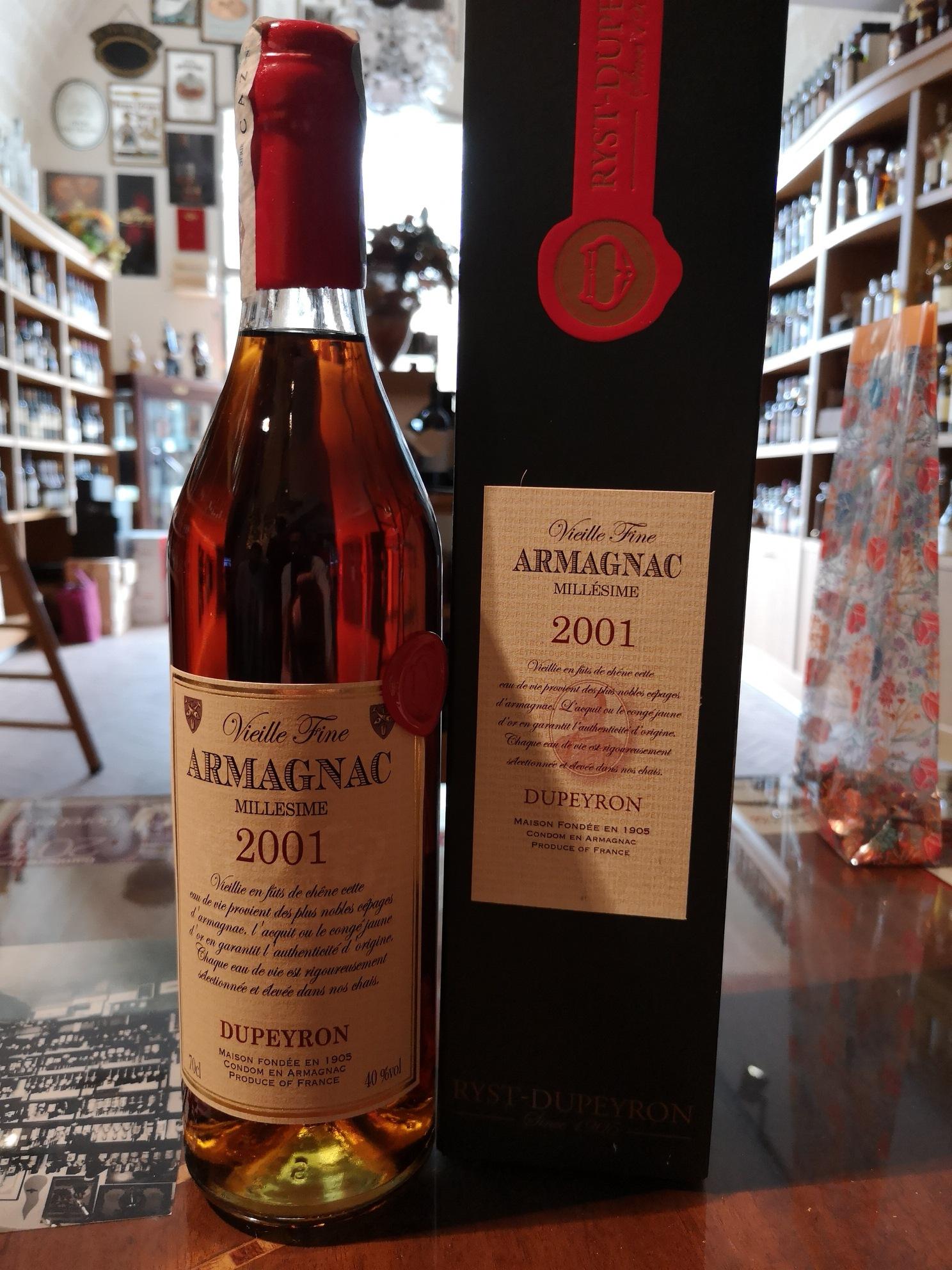 Armagnac Dupeyron 2001
