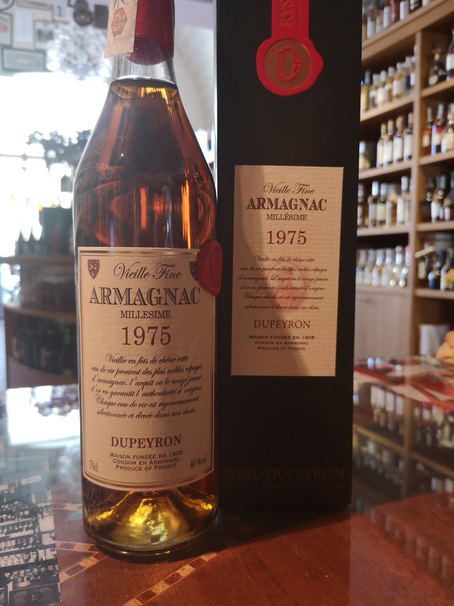 Armagnac Dupeyron 1975