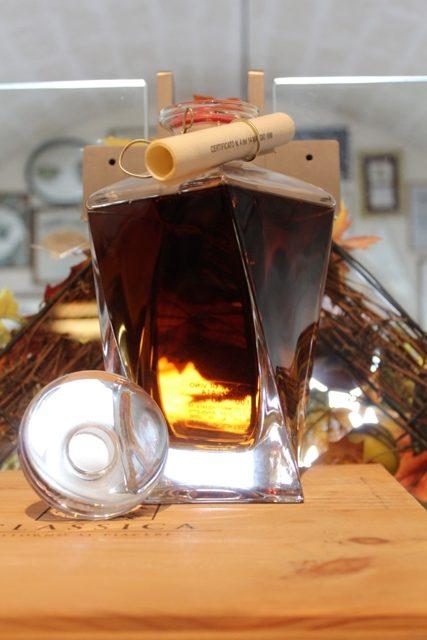 """Bepi Tosolini Brandy Camel 25 anni Decanter """"Prisma"""""""