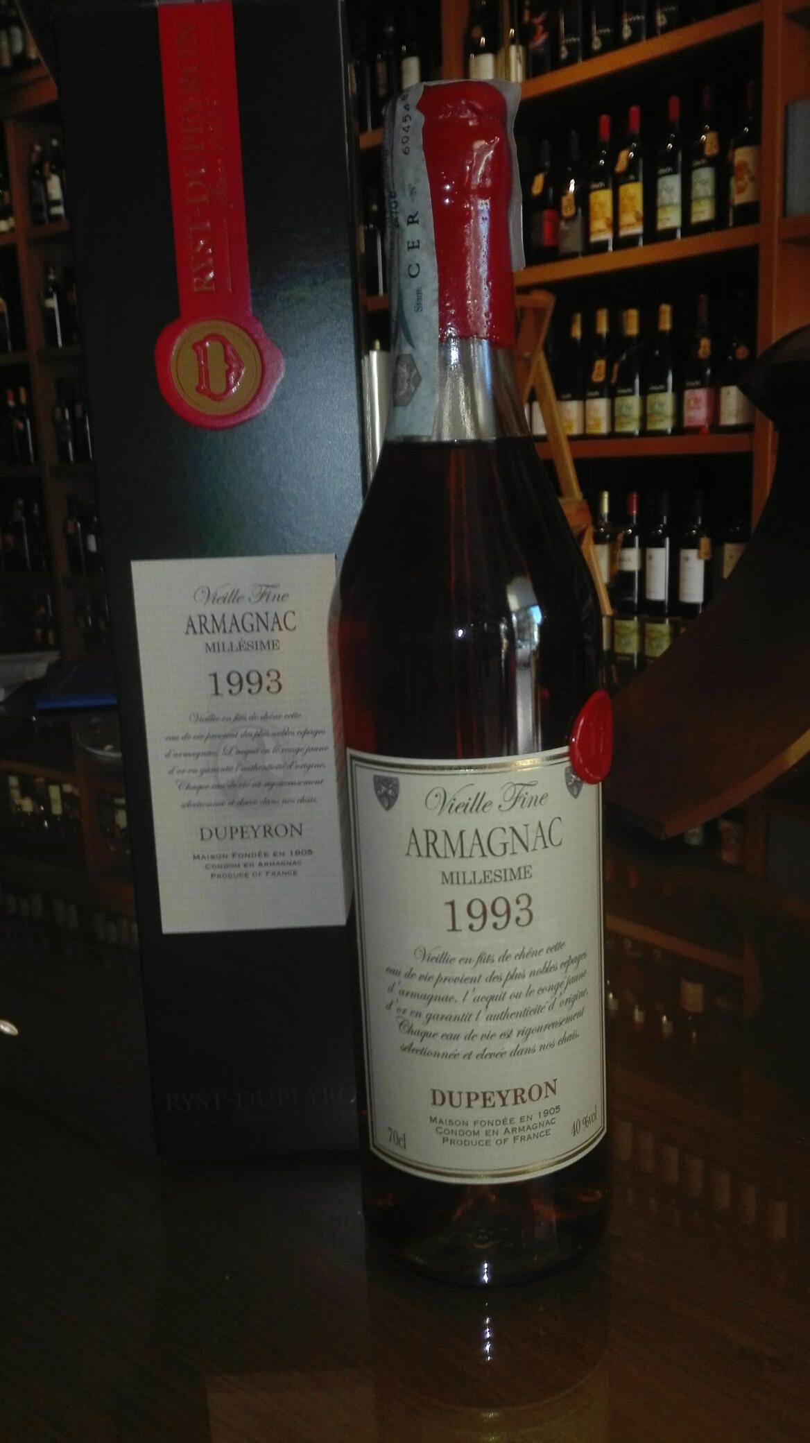 Armagnac Dupeyron 1993