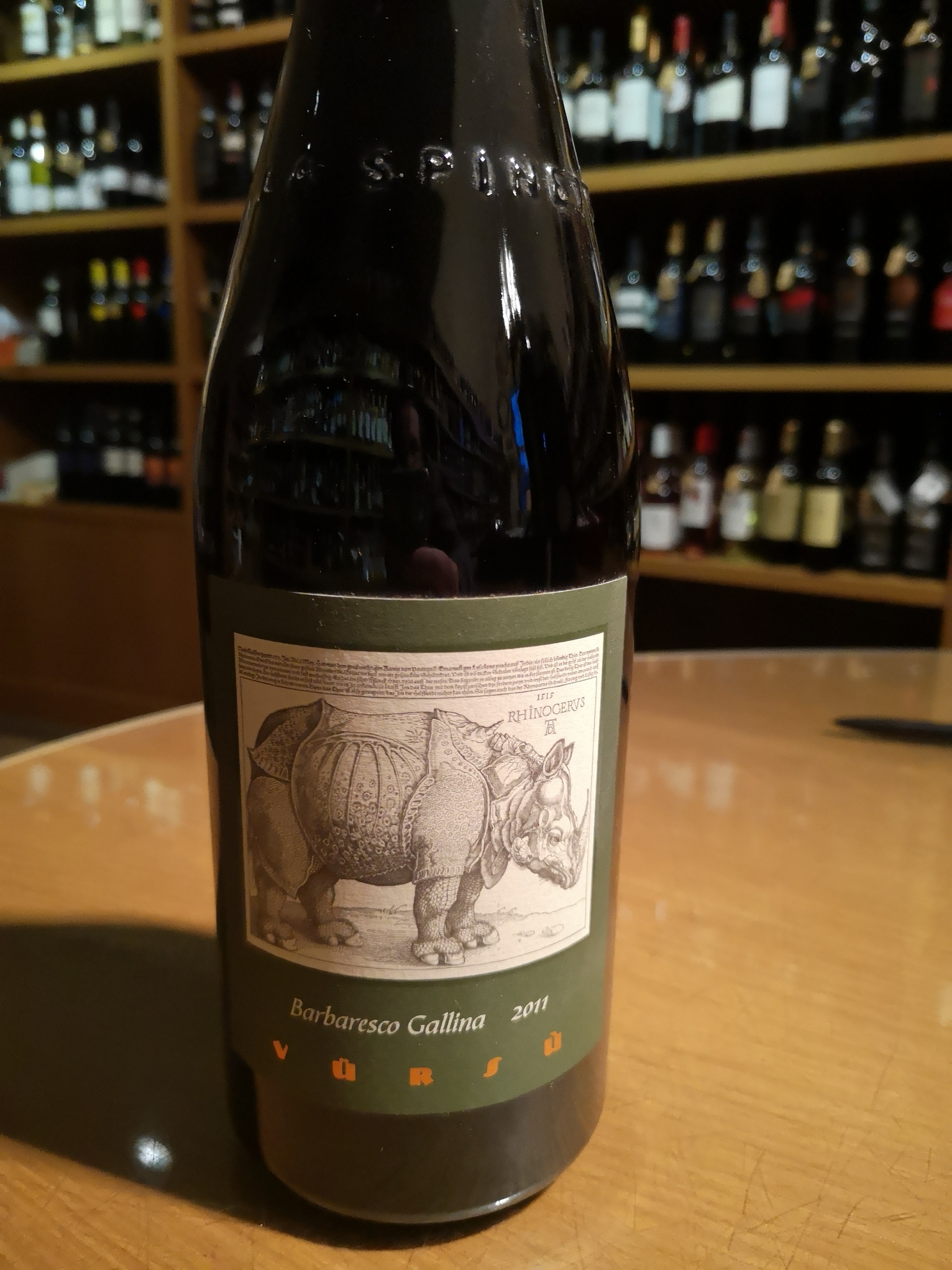 Barbaresco Gallina docg 2011 La Spinetta