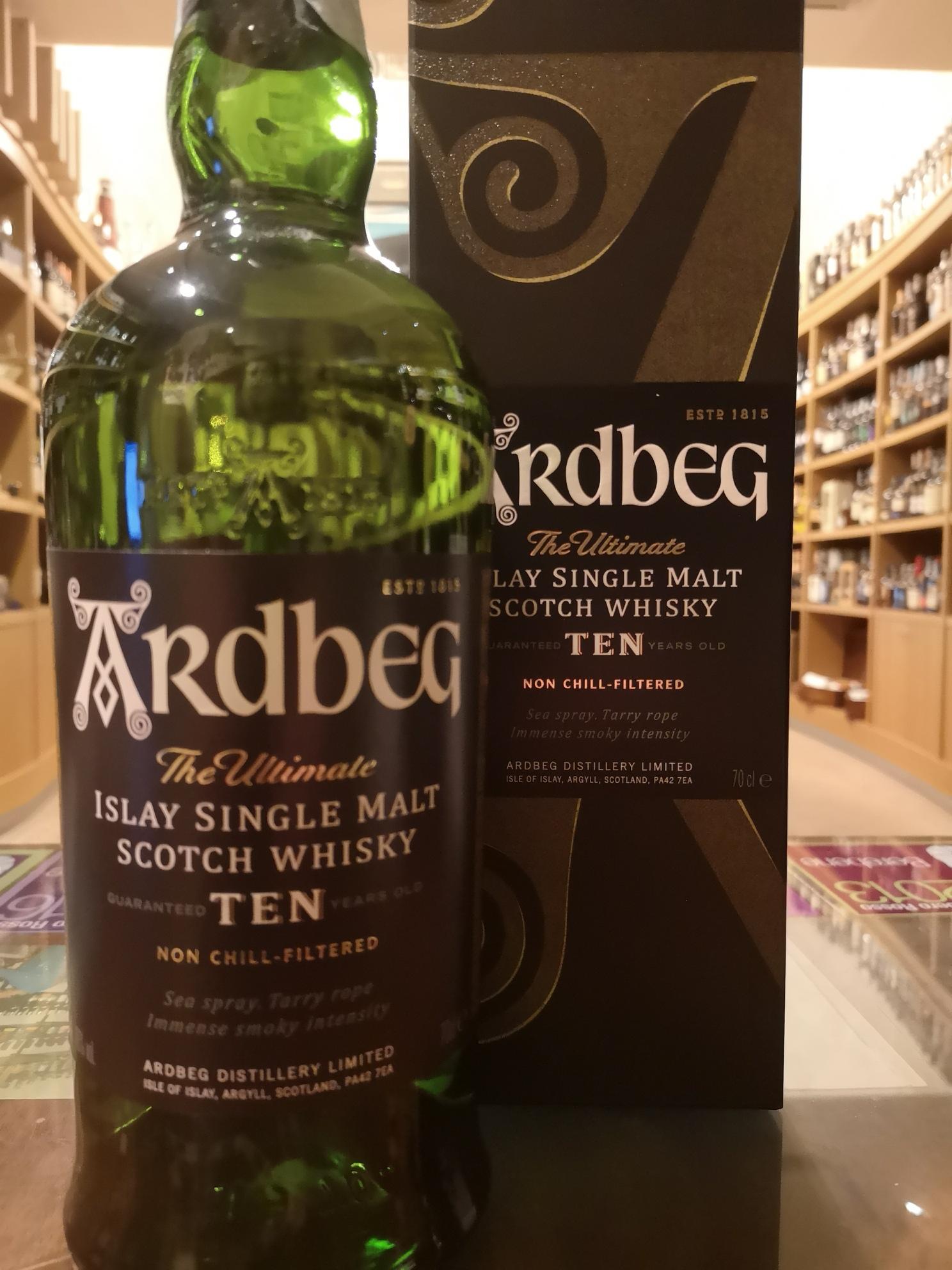 Ardbeg Islay Single Malt Scotch Whisky 10 YO
