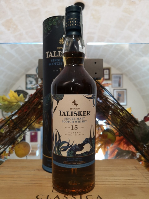Talisker Single Malt Scotch Whisky 15 YO Special Release 2019 – TUBO AMMACCATO