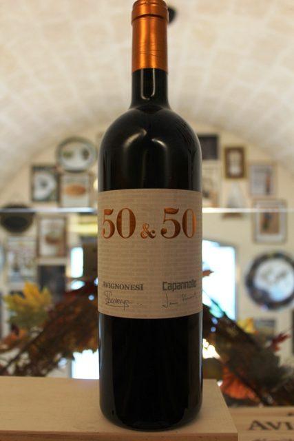 50 & 50 Avignonesi Capannelle Toscana Rosso IGT 2015