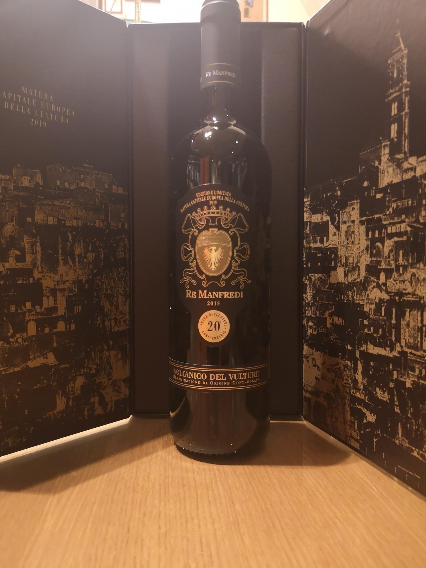 Re Manfredi Aglianico Limited Edition