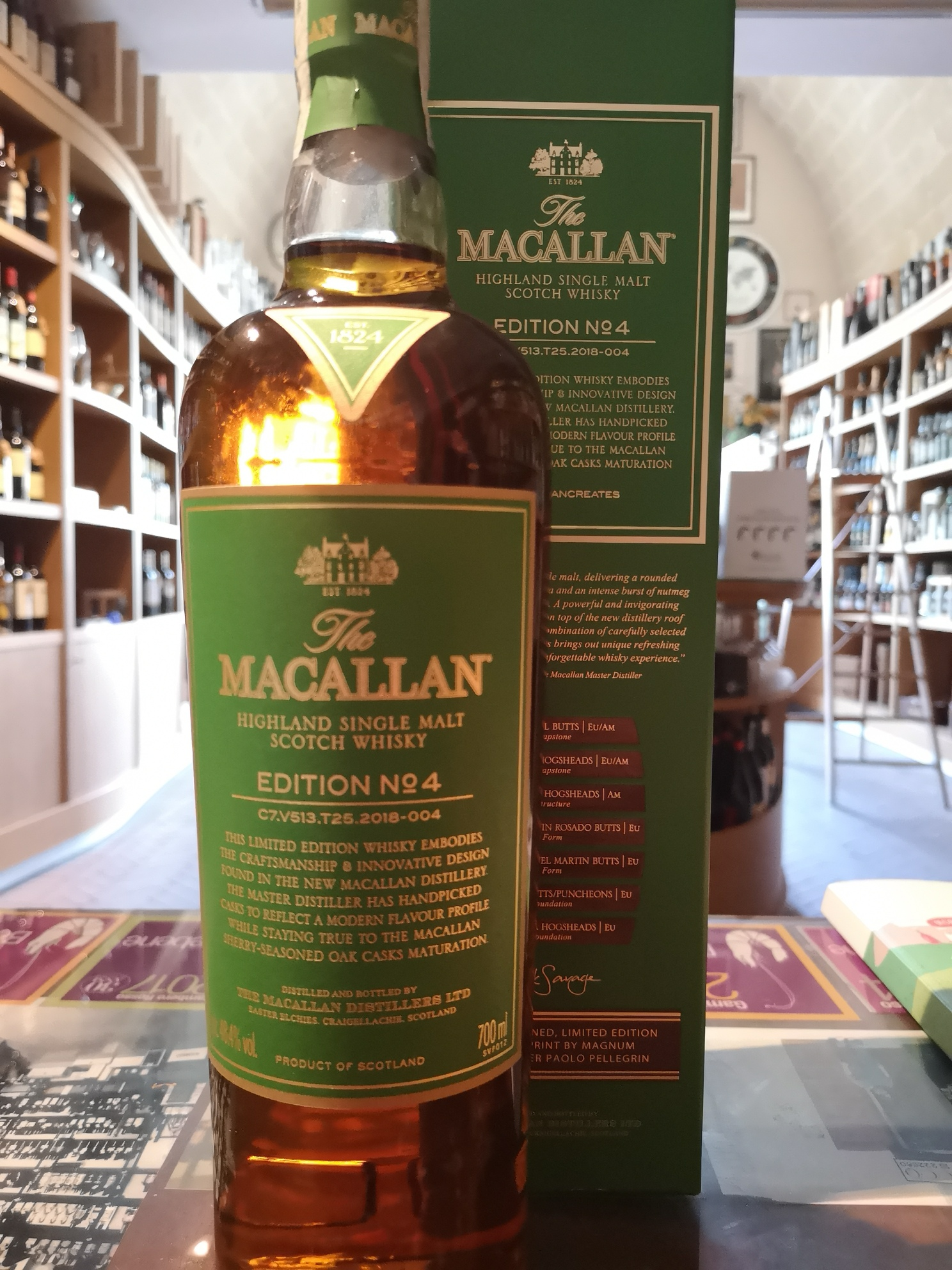 The Macallan Edition N° 4 Limited Edition 2018