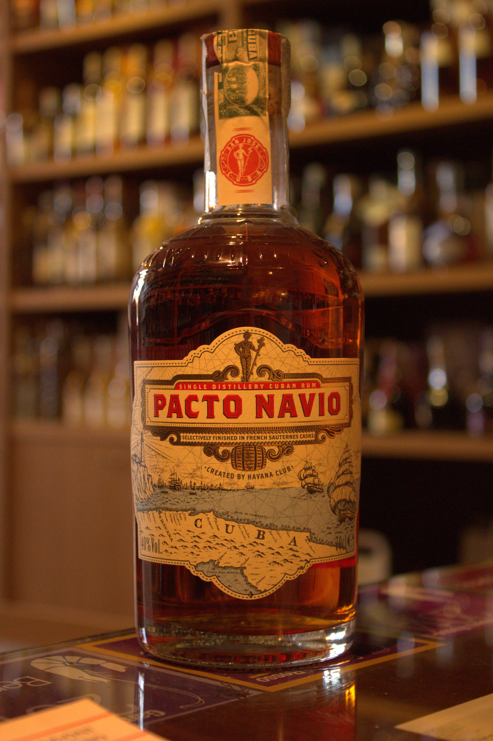 Pacto Navio Single Distillery Cuban Rum by Havana Club
