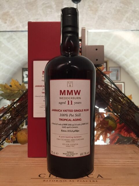 Monymusk Jamaica Vatted Single Rum 11 YO MMW Wedderburn Tropical Aging