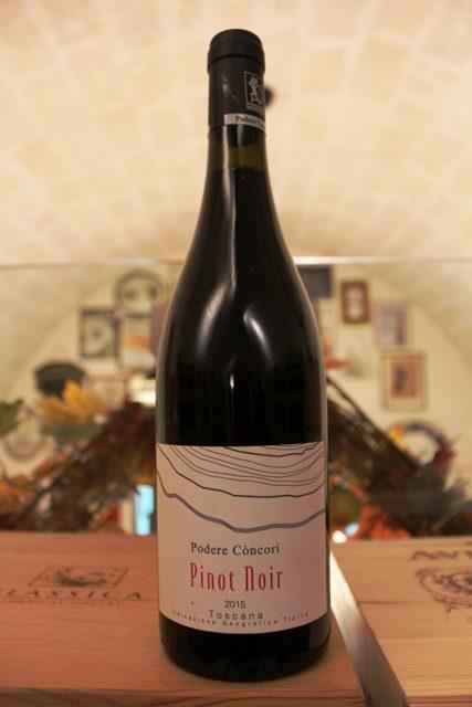 Pinot Noir Podere Còncori Toscana Rosso IGT 2015
