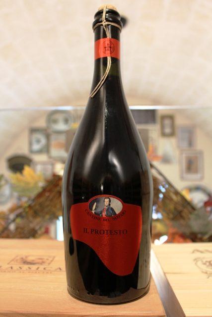 Il Protesto Cantine del Notaio Vino Frizzante Rosso IGT 2016