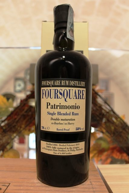 Foursquare Patrimonio Single Blended Rum Double Maturation