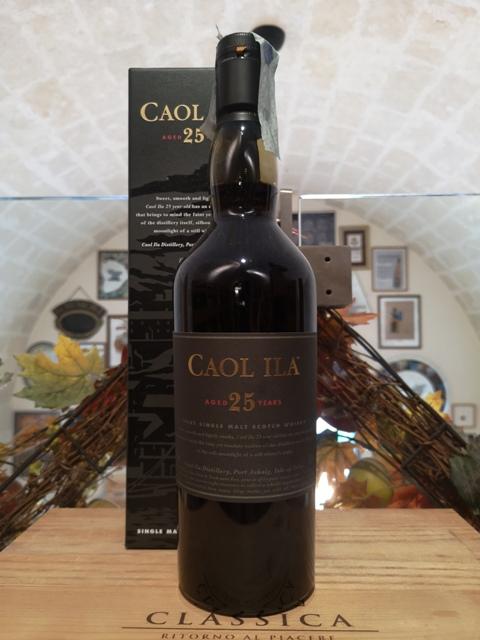 Caol Ila Islay Single Malt Scotch Whisky 25 YO