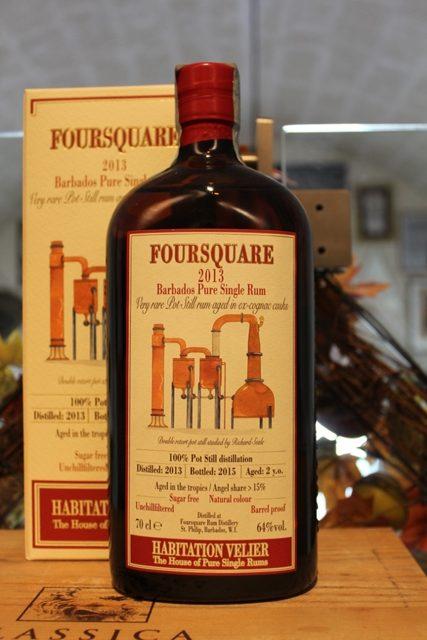 Foursquare Barbados Pure Single Rum 2013 2 YO Habitation Velier