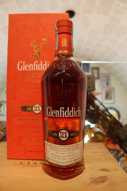 Glenfiddich Single Malt Scotch Whisky 21 YO Rum Cask Finish