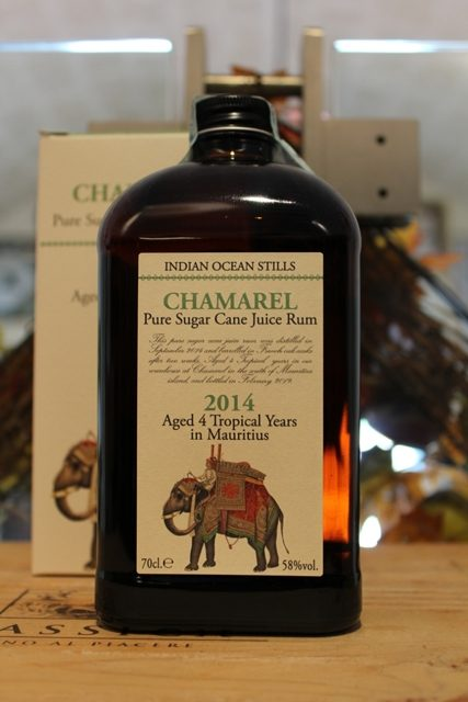 Chamarel Pure Sugar Cane Juice Rum 4 YO Mauritius 2014