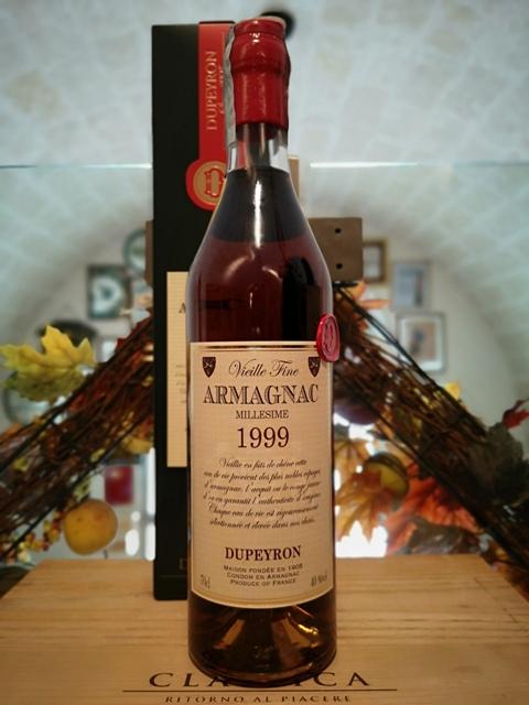 Dupeyron Armagnac Millesime 1999