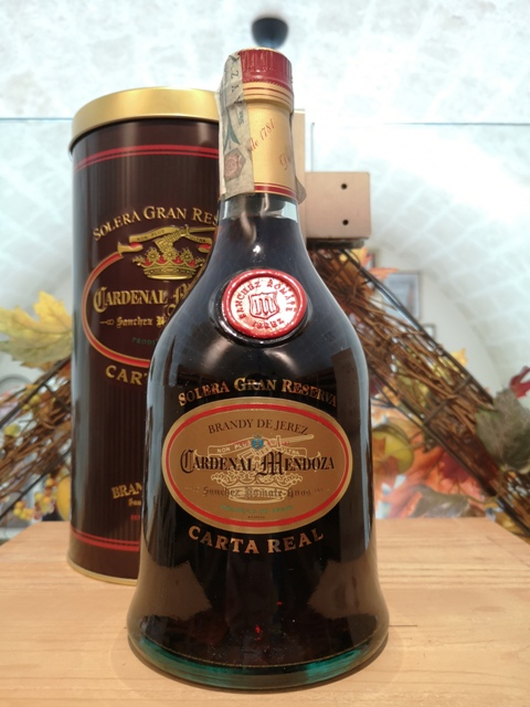 Cardenal Mendoza Brandy de Jerez Carta Real