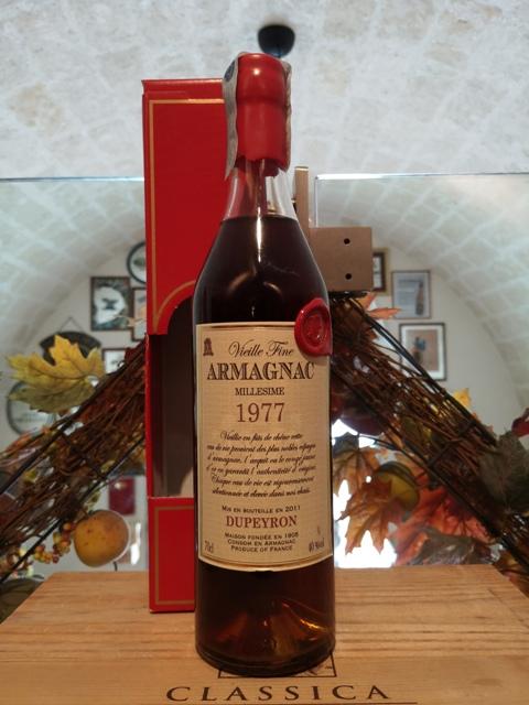Dupeyron Armagnac Millesime 1977