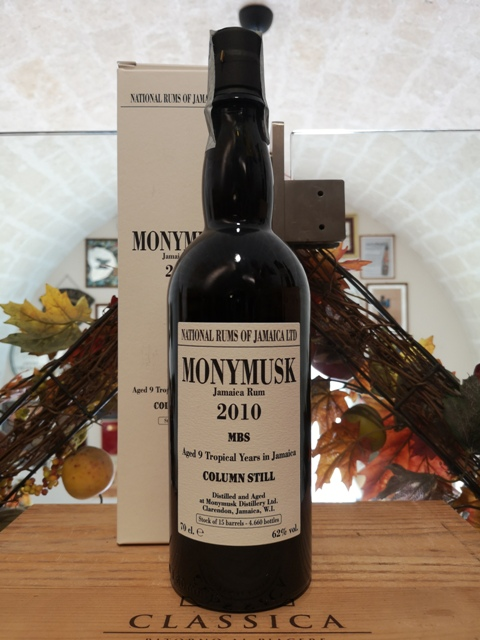 Monymusk Jamaica Rum 2010 MBS 9 YO Tropical Aging