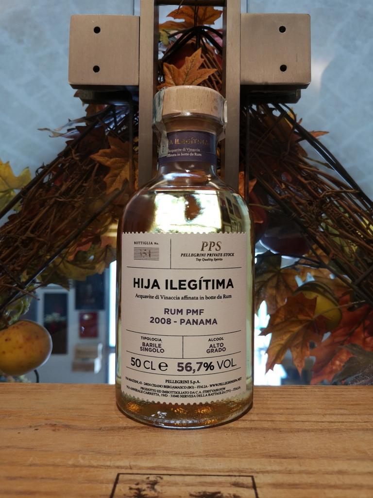 Pellegrini PPS Hija Ilegitima Acquavite affinata in botti di Rum PMF 2008 – Panama