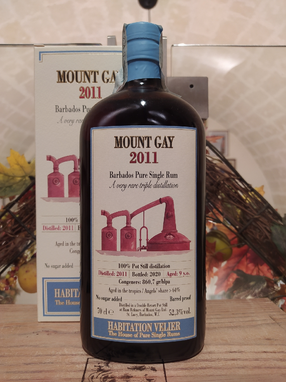 Mount Gay Barbados Pure Single Rum Triple Distillation 2011 9 YO by Habitation Velier