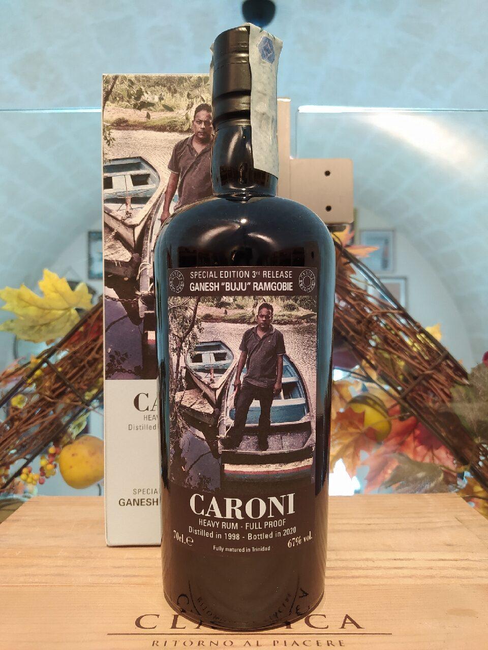 Caroni Heavy Rum Ganesh Buju Ramgobie Employees 3rd Release 1998