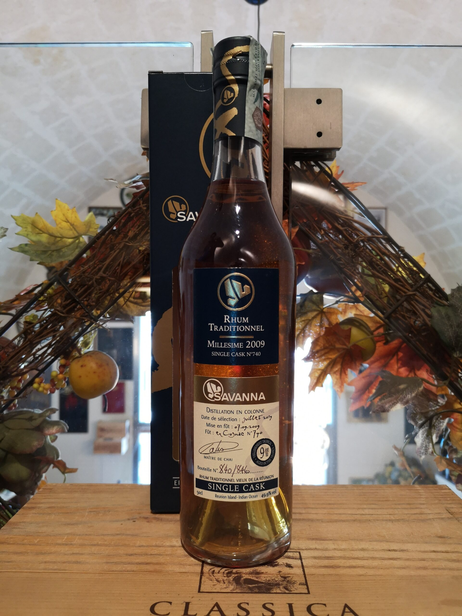 Savanna Rhum Traditionnel 2009 9 YO Cask 740