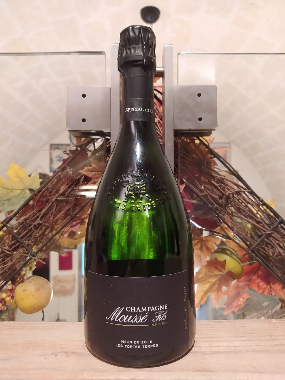 Les Fortes Terres Moussé Fils Champagne Extra Brut Special Club 2015