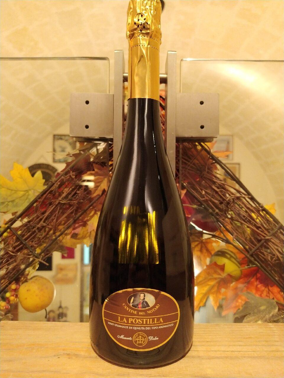 La Postilla Cantine del Notaio Vino Spumante di Qualità del Tipo Aromatico Moscato Dolce