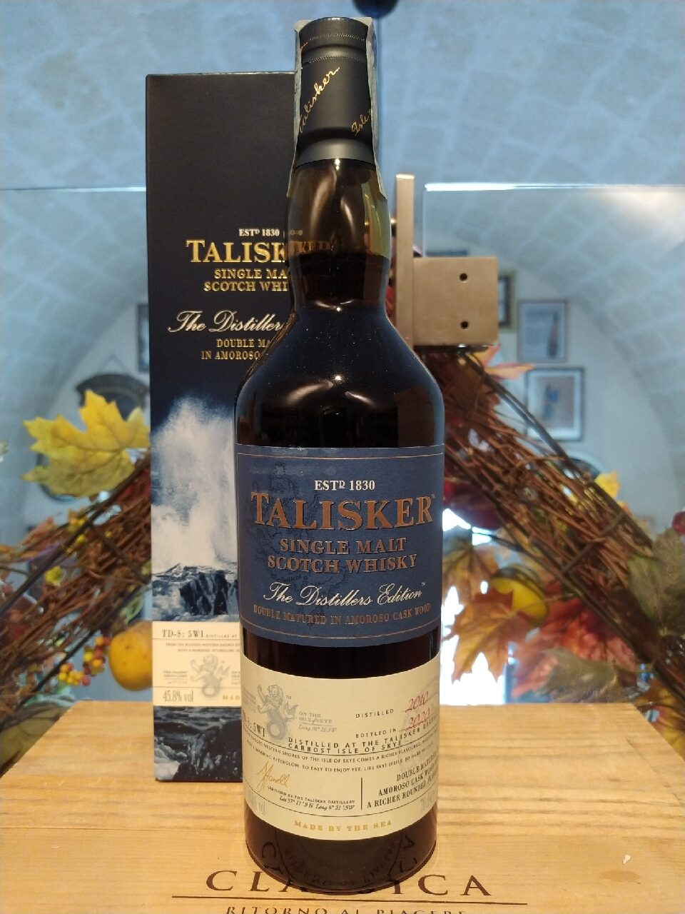 Talisker Single Malt Scotch Whisky Distillers Edition 2020