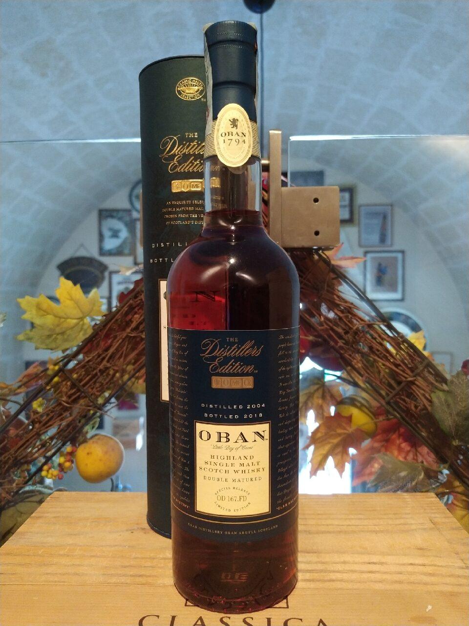 Oban Single Malt Scotch Whisky 2004 14 YO Distillers Edition 2018