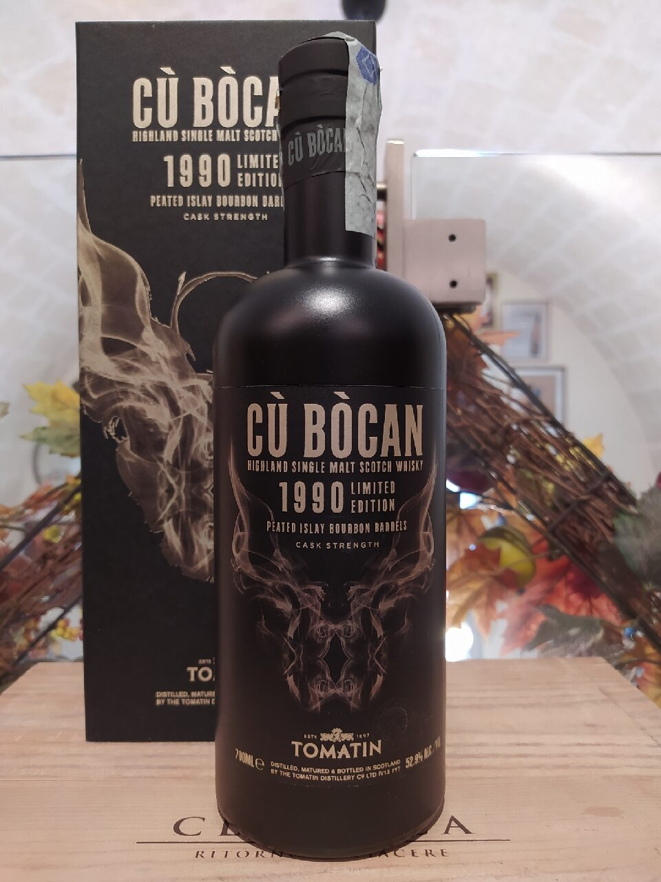 Cù Bòcan Highland Single Malt Scotch Whisky 1990 28 YO Vintage Limited Edition