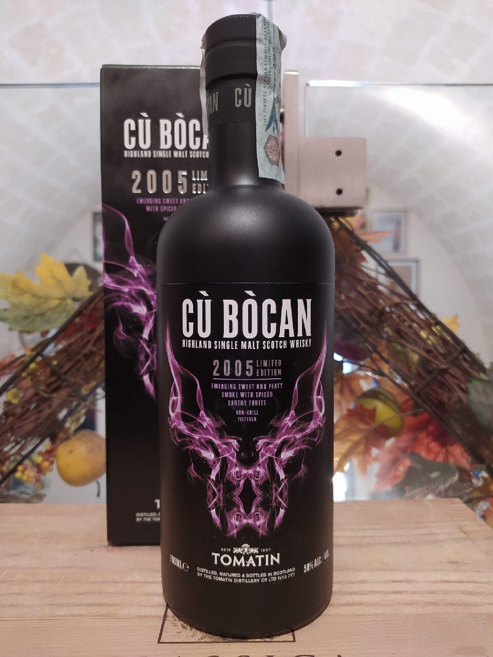 Cù Bòcan Highland Single Malt Scotch Whisky 2005 11 YO Vintage Limited Edition