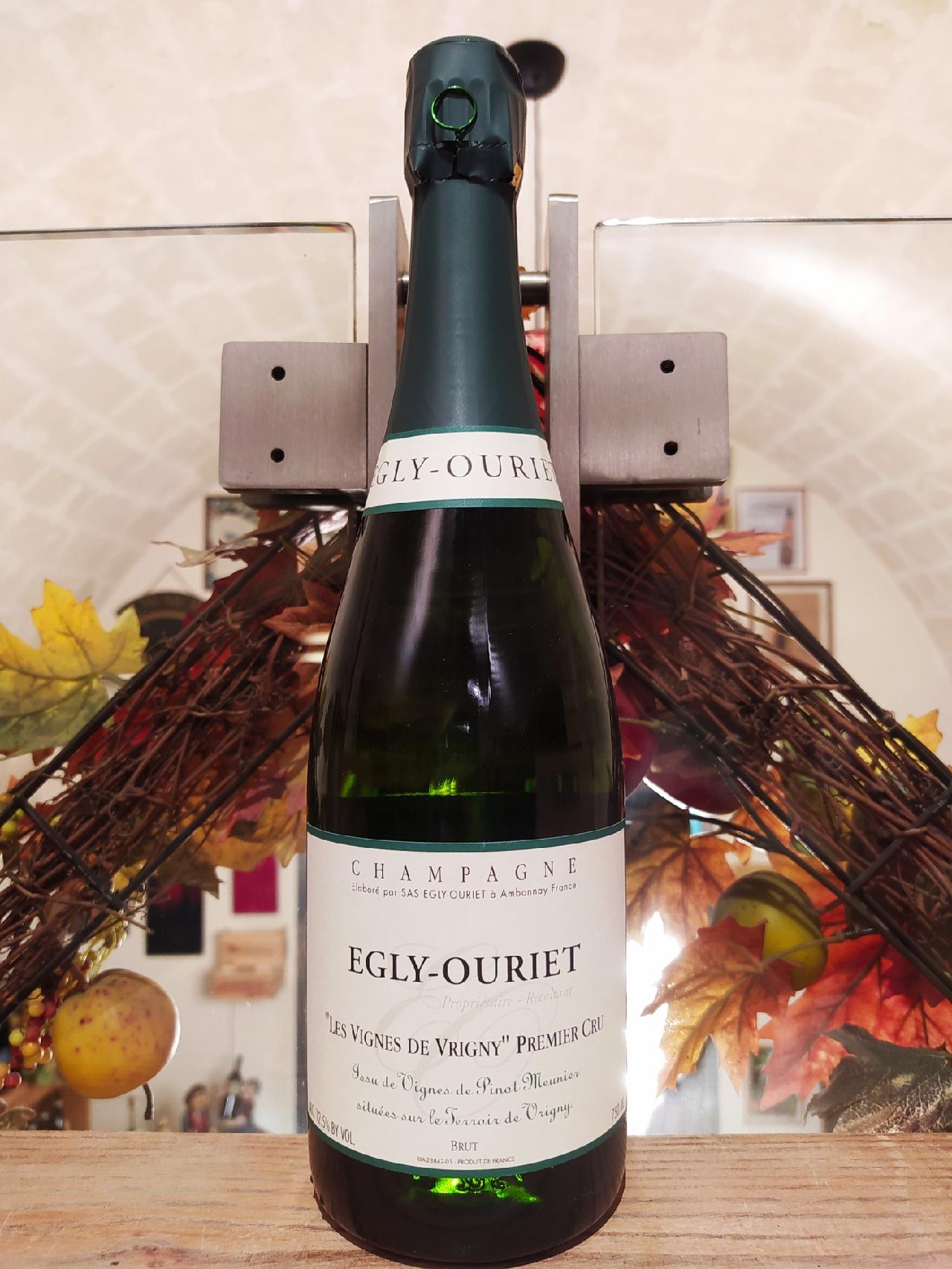 Les Vignes de Vrigny Premiere Cru Egly-Ouriet Champagne Brut