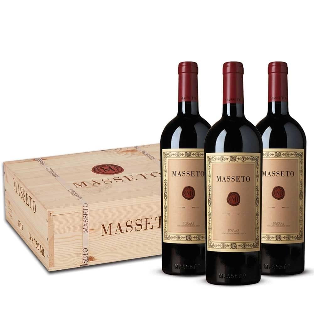 Masseto Cassa Legno Toscana Rosso IGT 2017