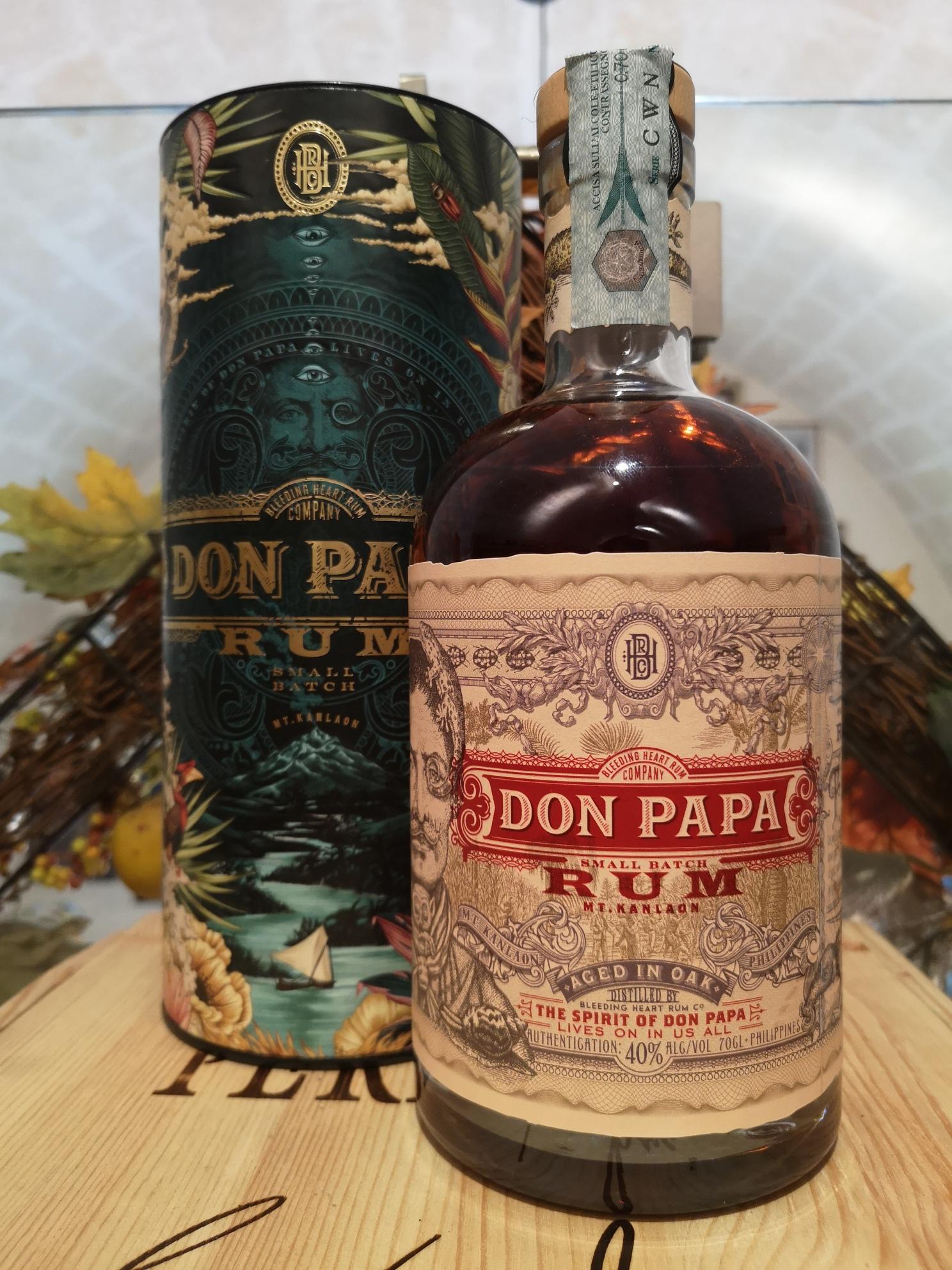Don Papa Rum 7 YO Cosmic Limited Edition