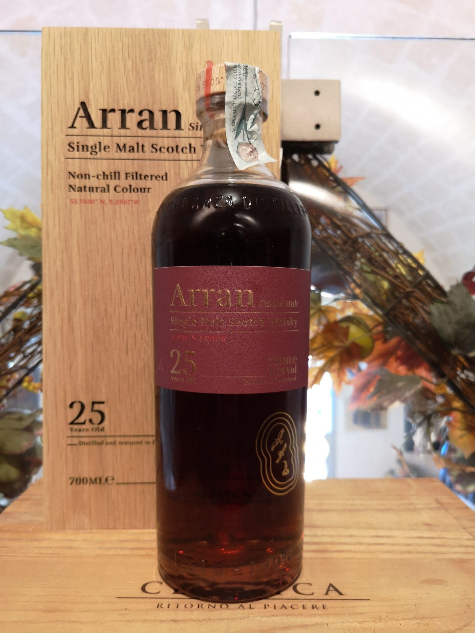 Arran Single Malt Scotch Whisky 25 YO