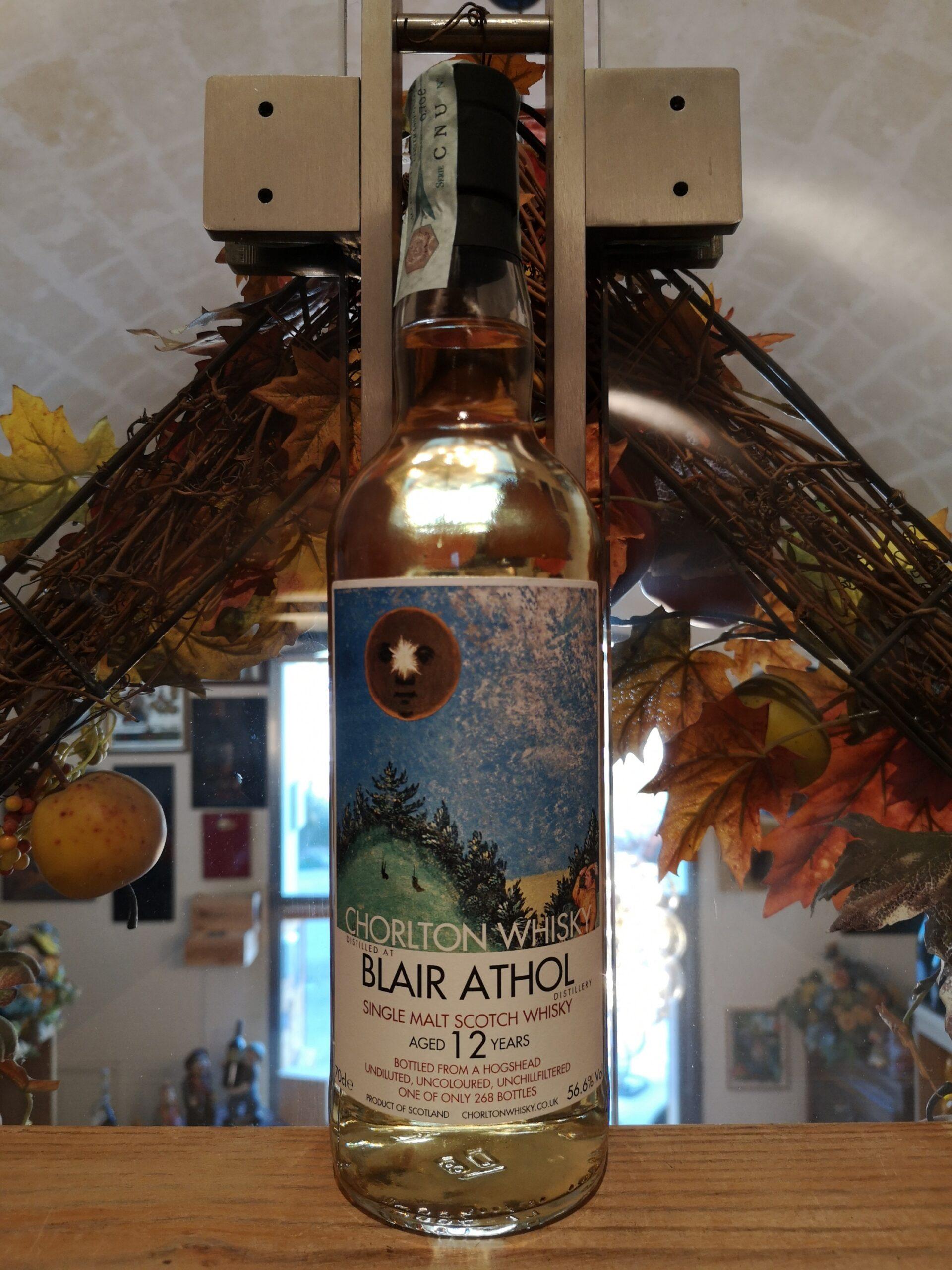 Chorlton Whisky Blair Athol 2007 12 YO