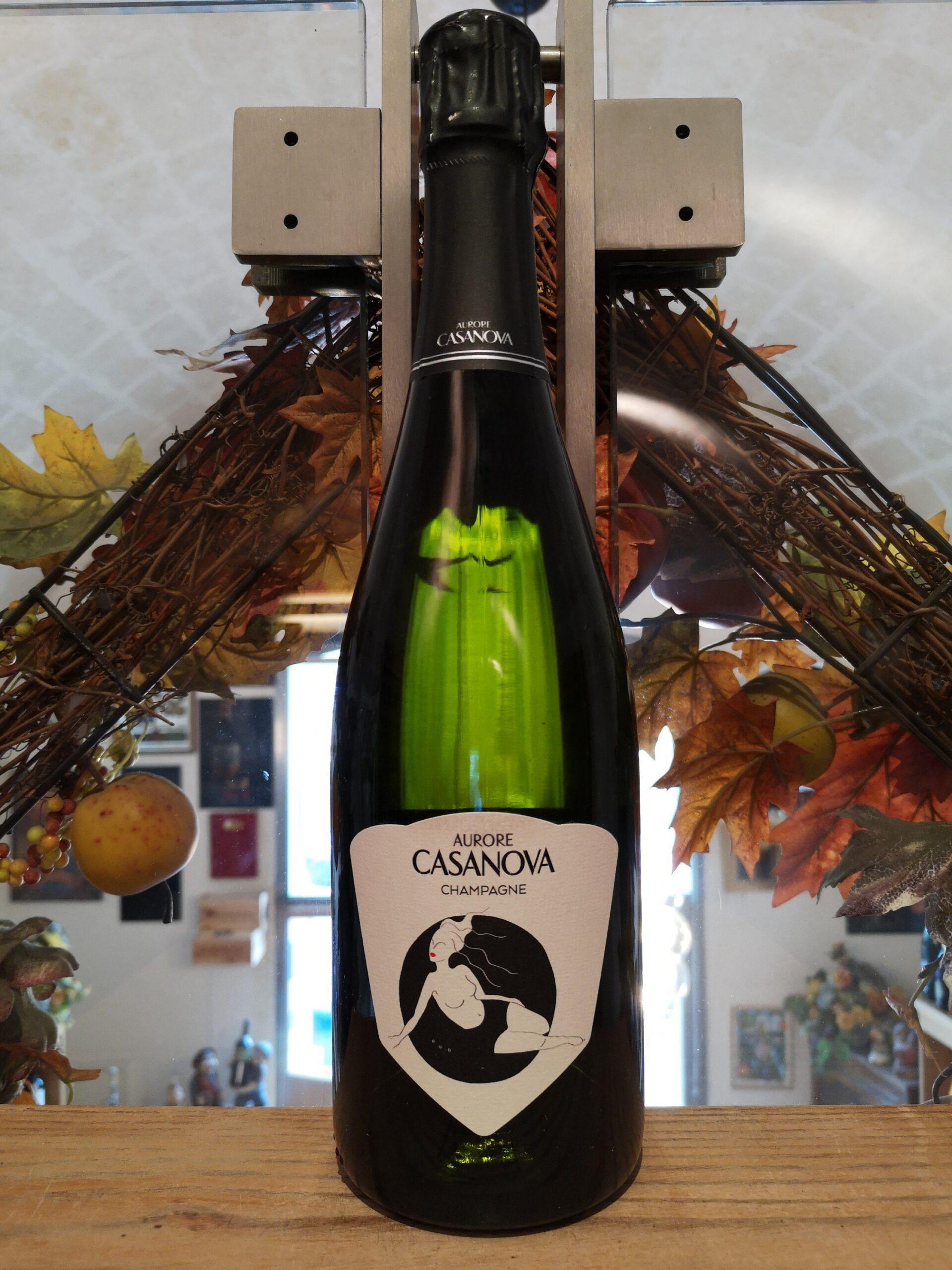 Divine Aurore Casanova Champagne AOC Grand Cru Blanc de Noirs Extra Brut 2016