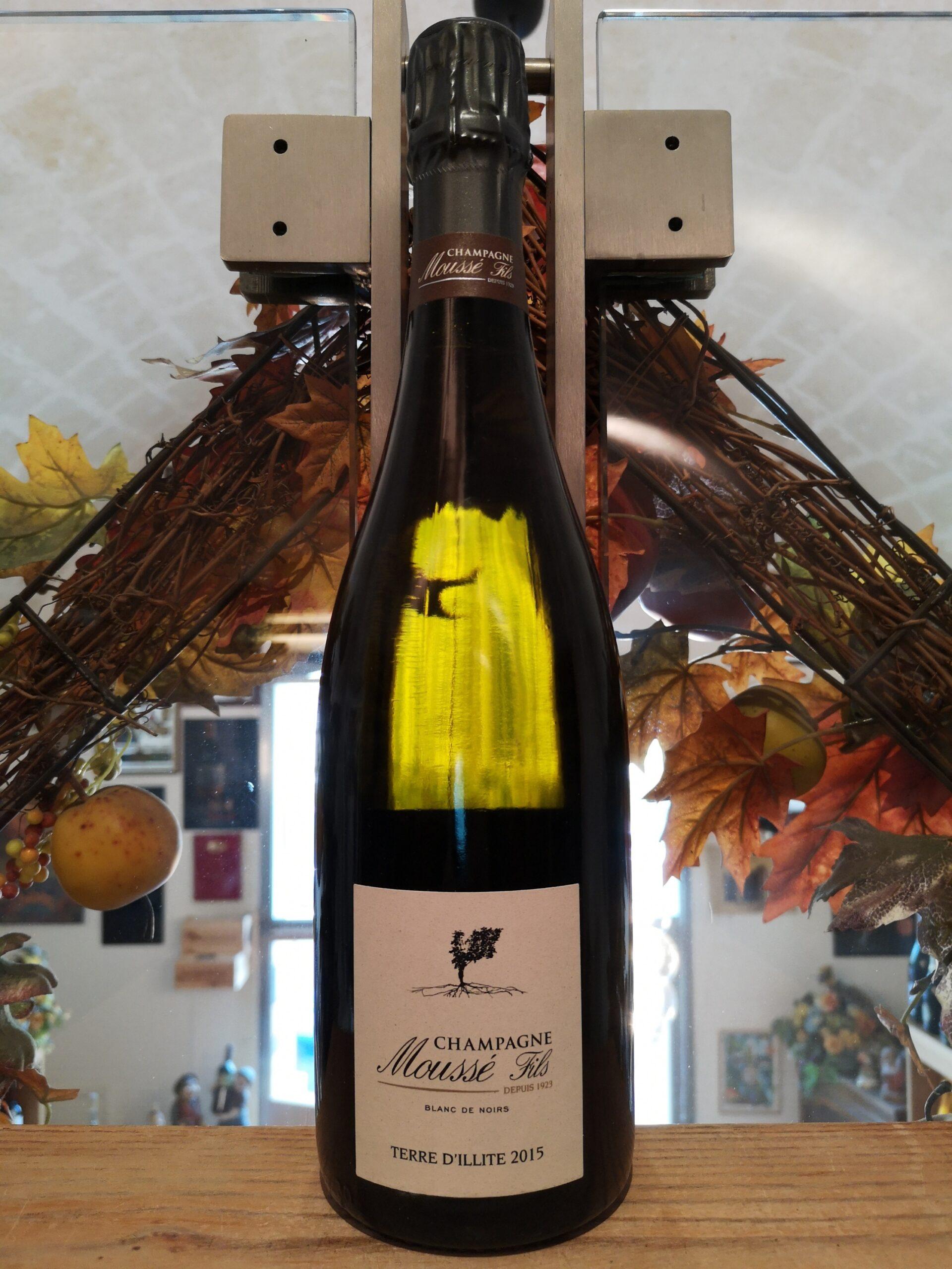 Terre D'Illite Moussé Fils Champagne Blanc de Noirs Extra Brut 2015