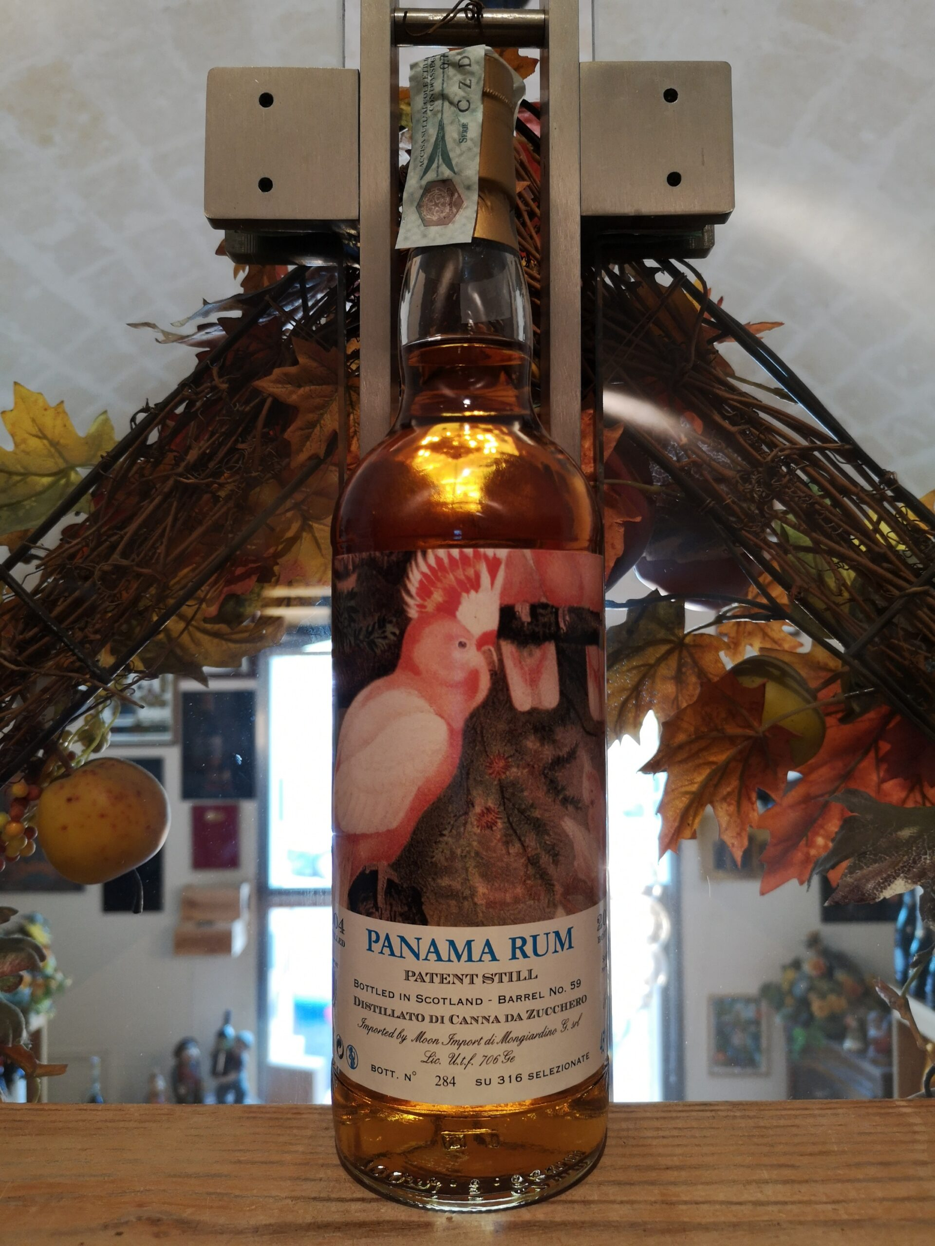 Pappagalli Rum Panama 2004 15 YO Moon Import
