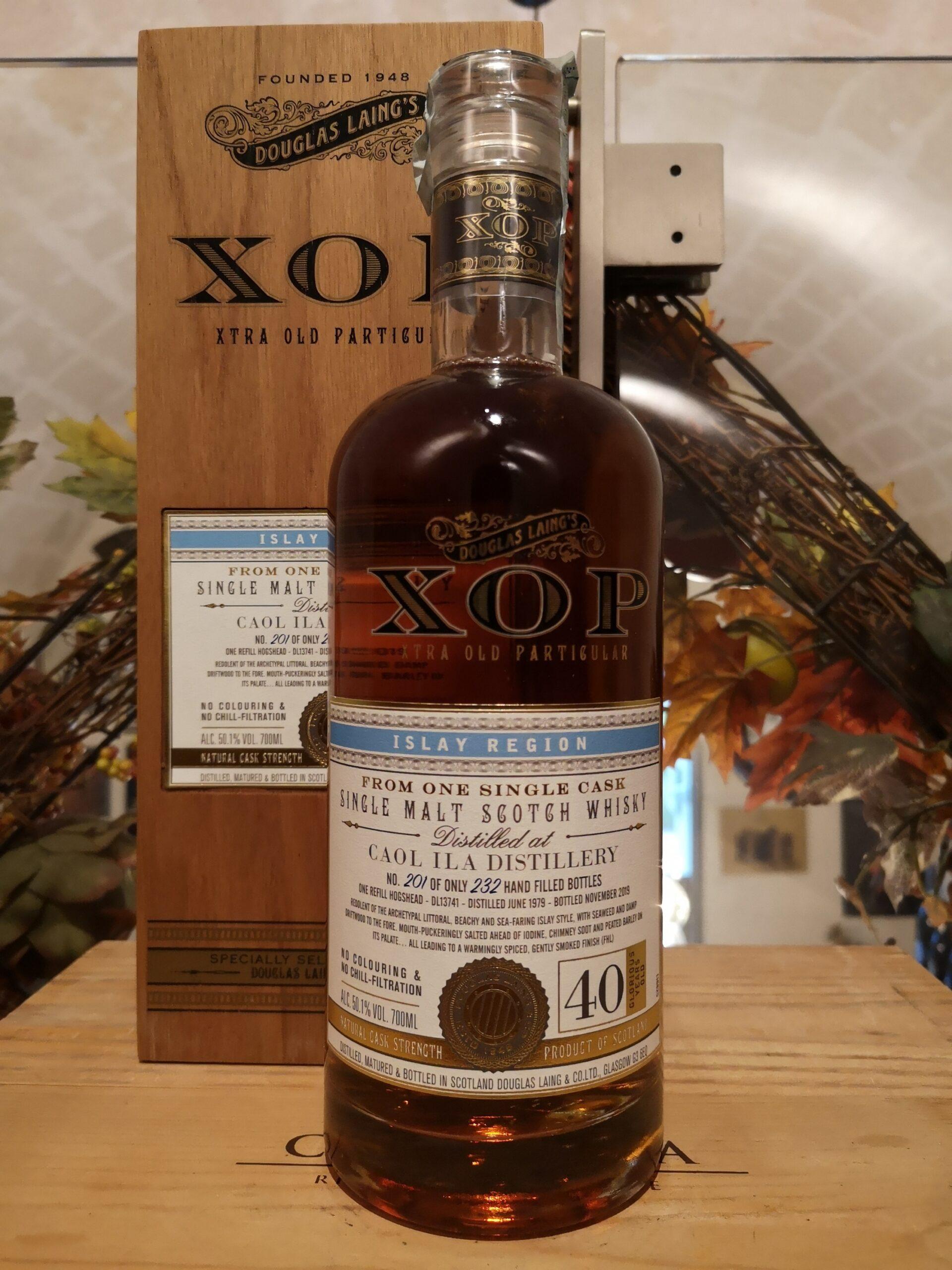 XOP Caol Ila Single Malt Scotch Whisky 1979 40 YO by Douglas Laing
