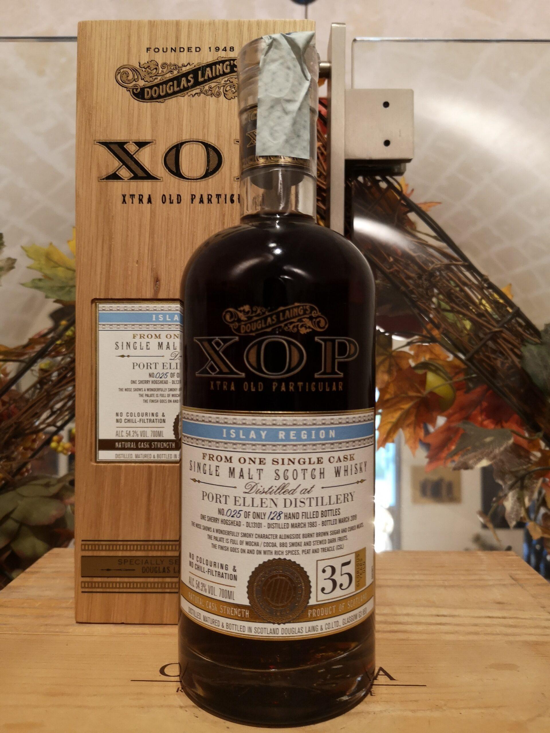XOP Port Ellen Single Malt Scotch Whisky 1983 35 YO by Douglas Laing