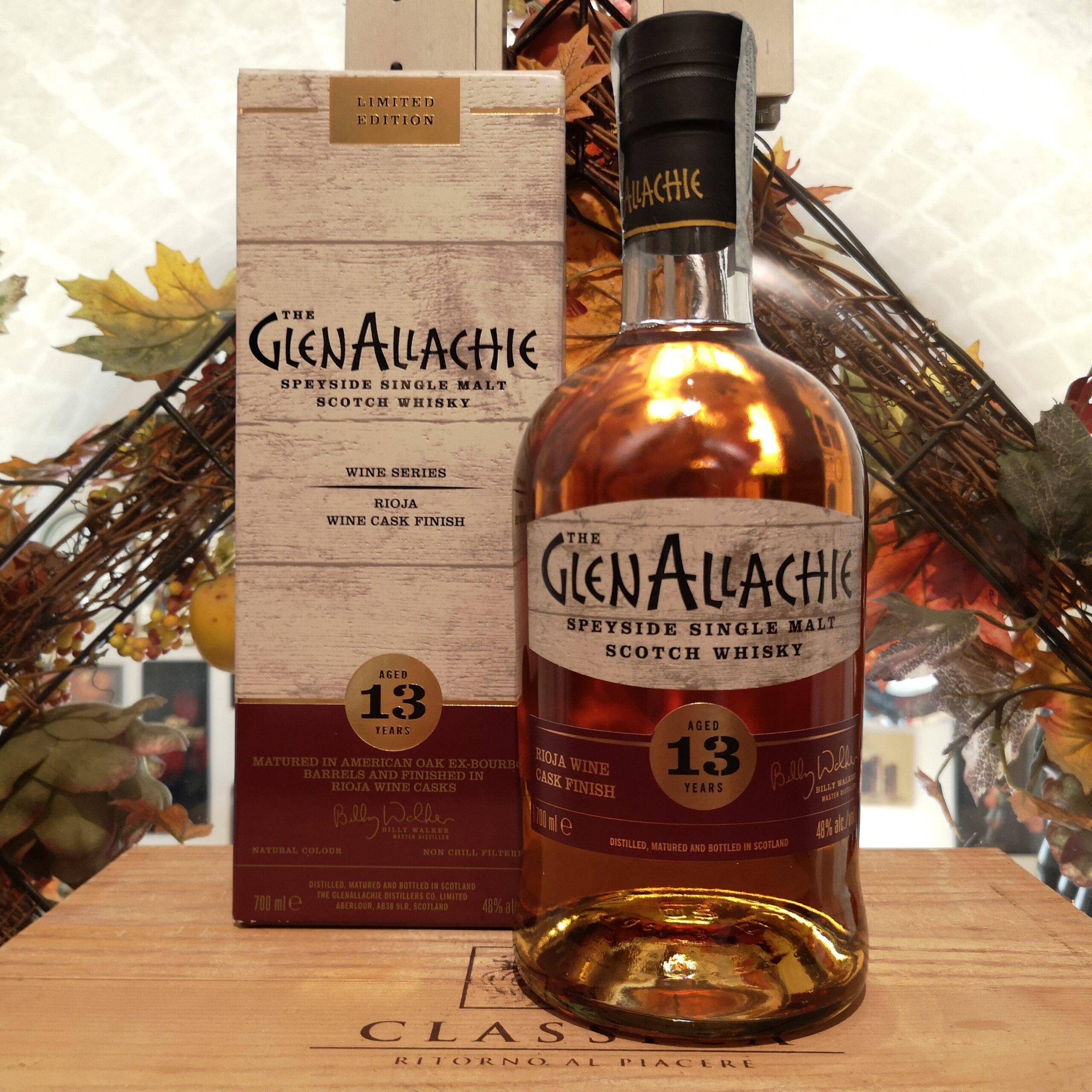 The GlenAllachie Speyside Single Malt Scotch Whisky 13 YO Rioja