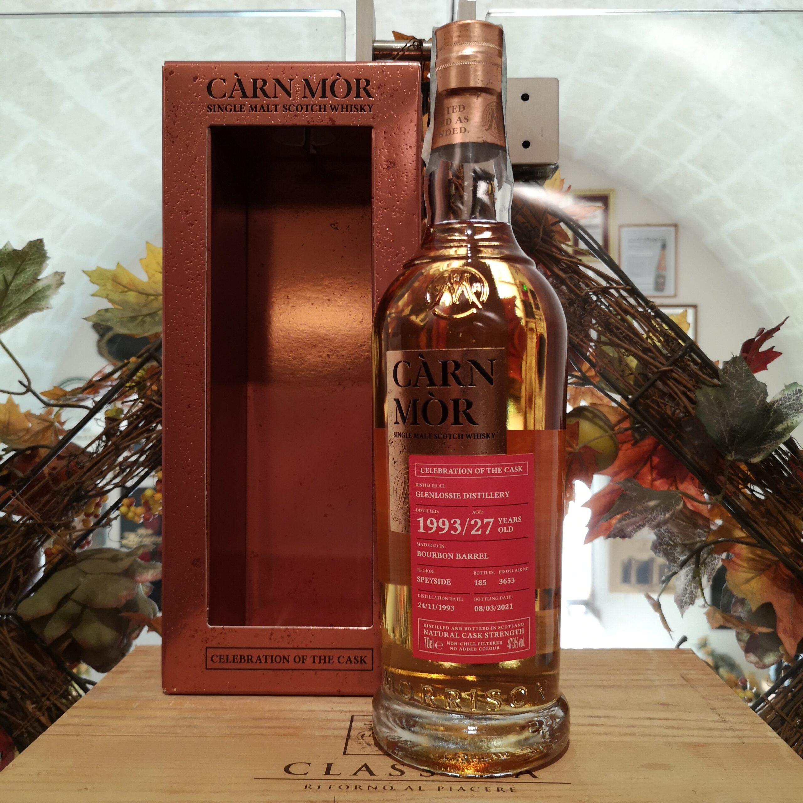 Càrn Mòr Celebration of the Cask Glenlossie Single Malt Scotch Whisky 1993 27 YO 3653