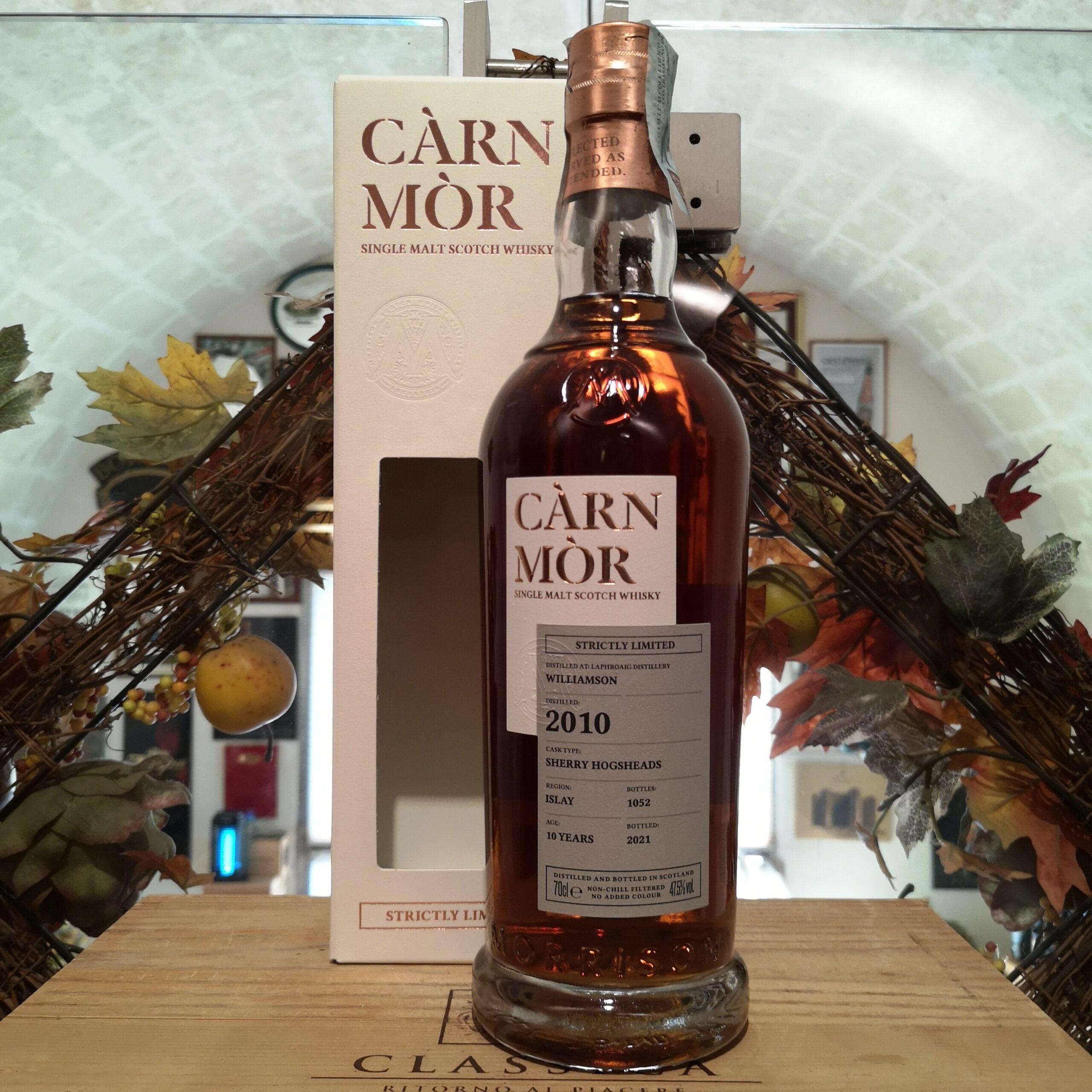Càrn Mòr Strictly Limited Williamson Single Malt Scotch Whisky 2010 10 YO