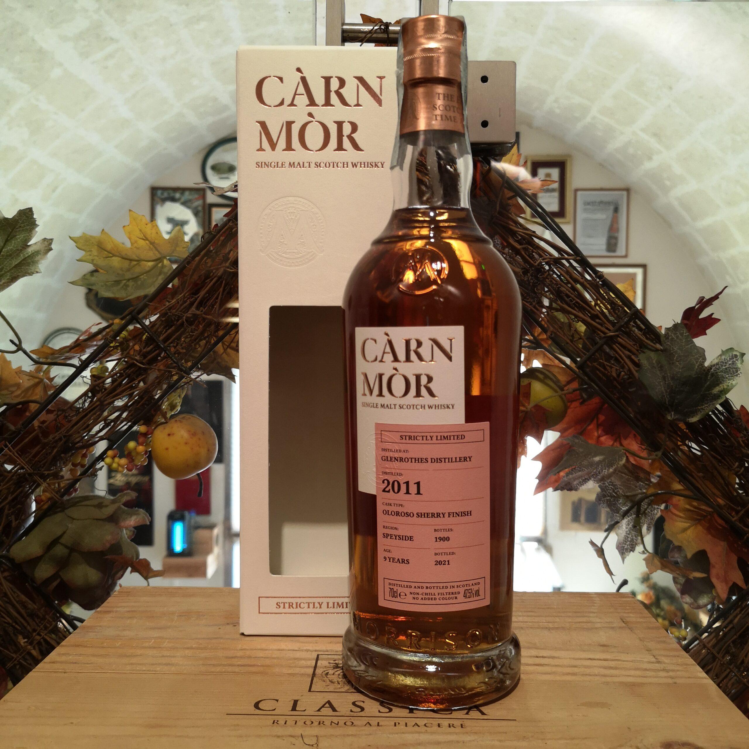 Càrn Mòr Strictly Limited Glenrothes Single Malt Scotch Whisky 2011 9 YO
